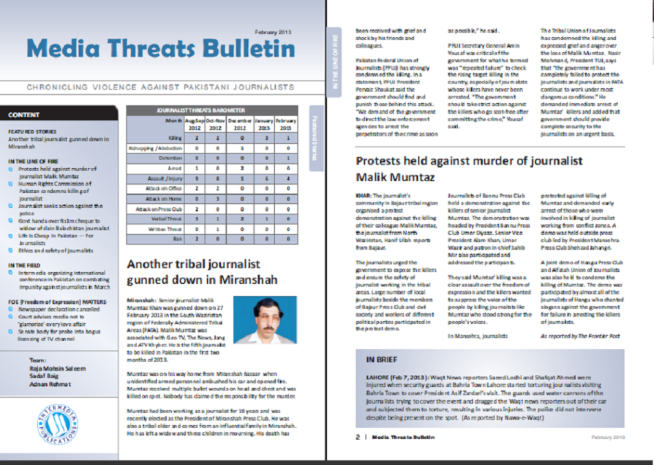 Threats Bulletin Title
